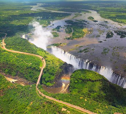 Arrival in Victoria Falls