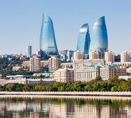 Arrival in Baku