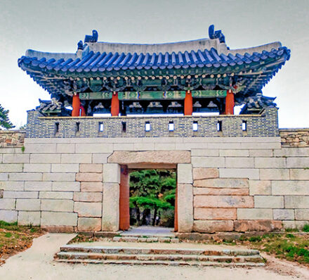 Arrival in Busan