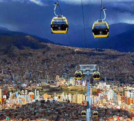 La Paz (Altitude Range 3700-4000m)
