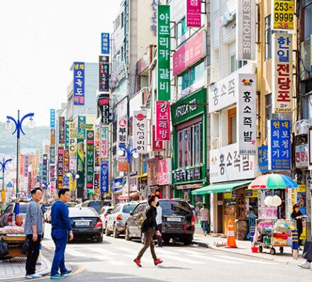 Gyeongju / Departure from Busan
