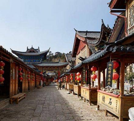 Arrival in Lijiang