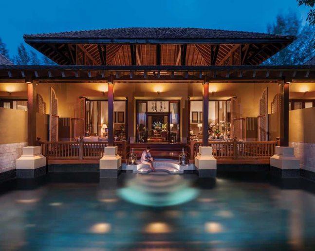 Three-Bedroom Family Garden Villa with Pool