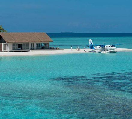 Arrival in Maldives