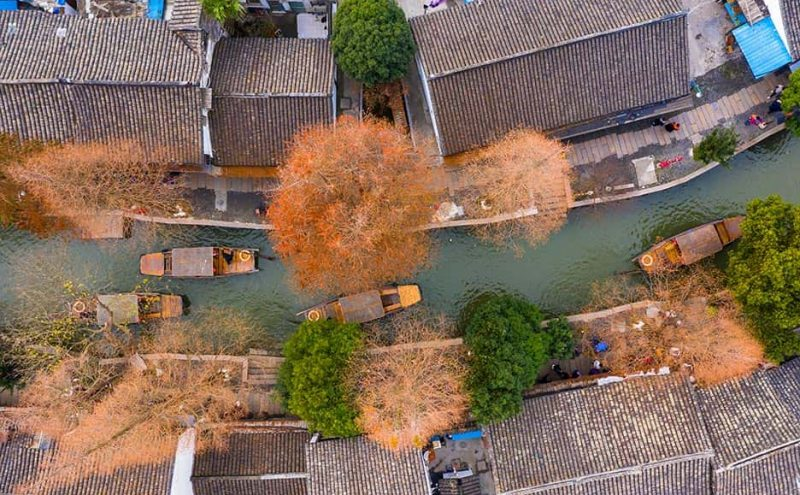 China Most Stylish Water Town Retreats