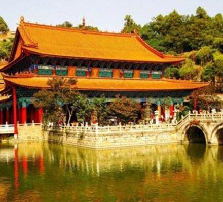 Arrival in Kunming (Average altitude 1892m)