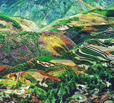 Kunming / Dongchuan (Average altitude 1244-2600m)