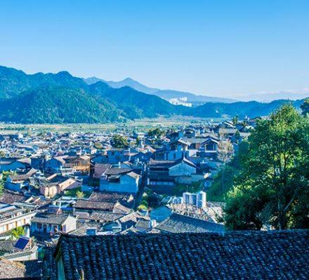 Tengchong (Average altitude 1667m)