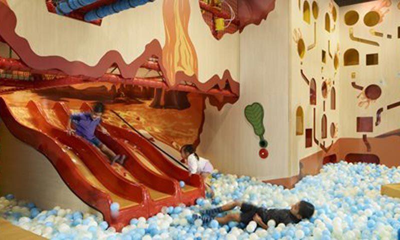 Buds at Shangrila, interactive indoor playground