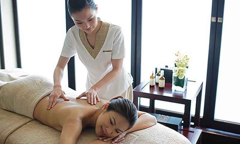 Enjoy spa at CHI using your room credit