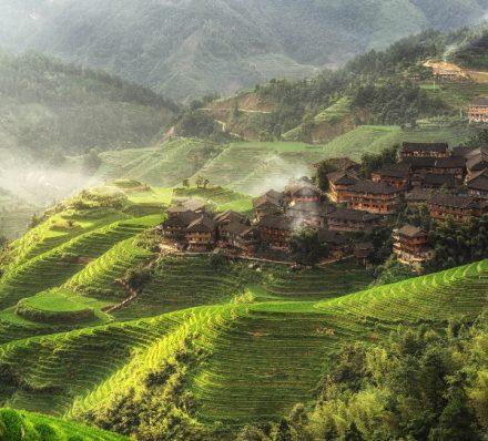 Arrival in Guilin / Longsheng