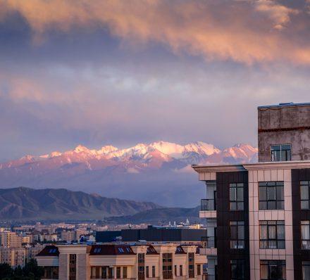 01 May, Sun Arrival in Bishkek