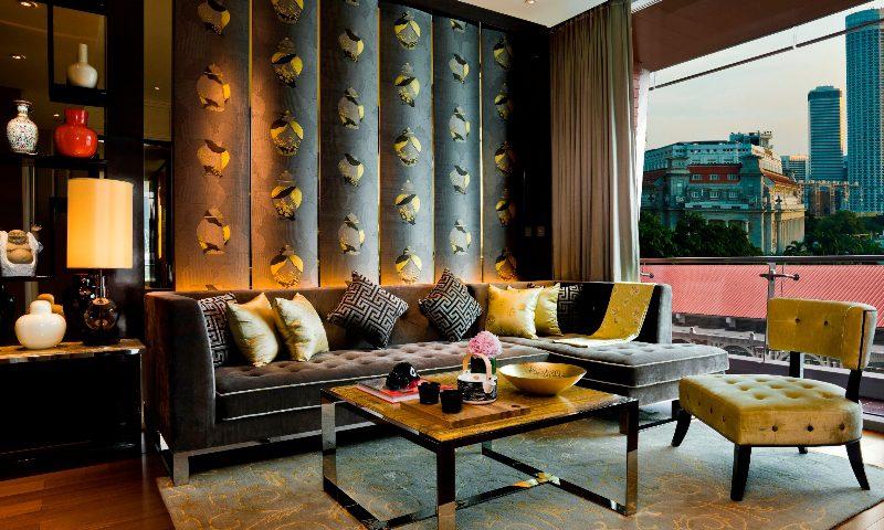 Fullerton Bay - Theme Suite Living Room